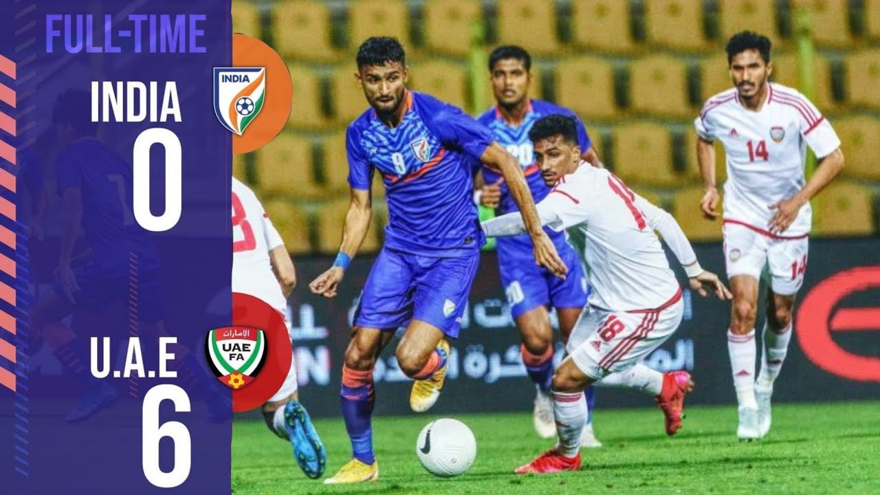 Download India Vs UAE (0-6) Full Match Highlights 2021