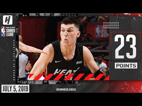 Tyler Herro Full Highlights Miami Heat vs China (2019.07.05) Summer League - 23 Points in 3 Qtrs