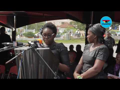 Paapa Yankson's funeral: Tribute by children