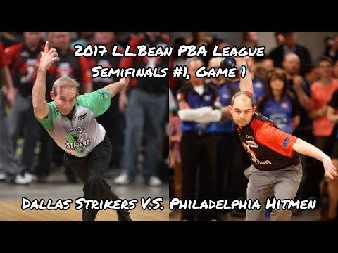 2017 PBA League Semifinals #1, Game 1 – Dallas Strikers vs Philadelphia Hitmen