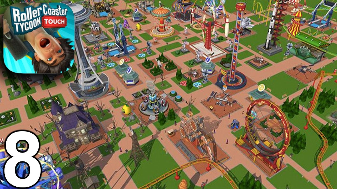ROLLERCOASTER TYCOON TOUCH Walkthrough Gameplay Part 8 - Level 24, 25, 26  (iOS Android)