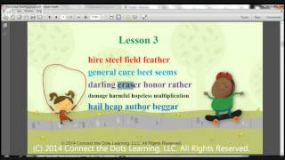 Third Grade Reading Lesson 3- Fullerton Learning Centers