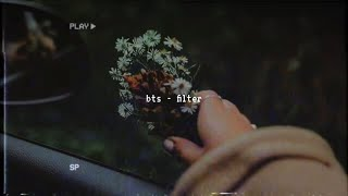 Cover images bts - filter (slowed down)༄
