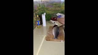 93. Стейк из 🐟Дикого Сибаса (+разделка рыбы)
