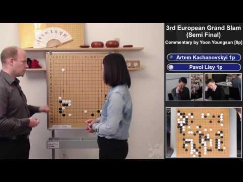 Go Grand Slam 2017, Semi Final - Commentary by Yoon Youngsun [8p] --- Kachanovskyi [1p] VS Lisy [1p]