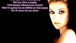 Celine Dion - River Deep Mountain High (Lyrics)