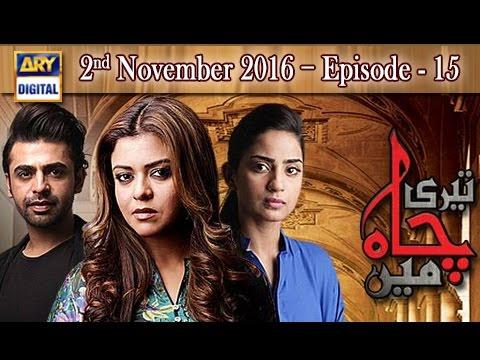 Teri Chah Mein Ep 15 - 2nd November 2016  - ARY Digital Drama