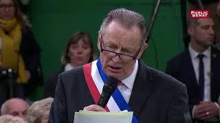 Francis Courel, maire de Saint-Philbert-sur-Risle, interpelle Macron sur l'ISF lors du grand débat