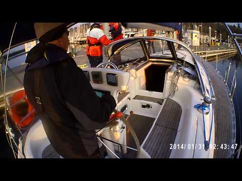 Video 1 - Departure - Swinging the stern out using an aft spring line