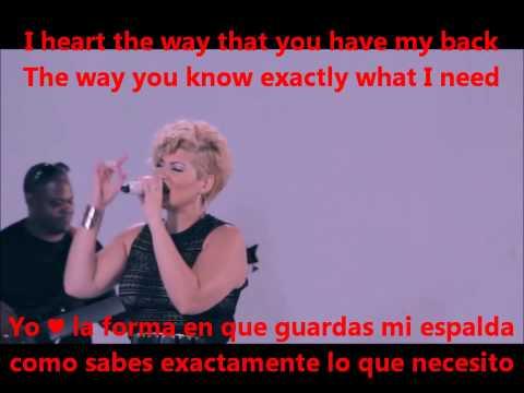 ♥ I HEART YOU ♥ TESSANNE CHIN/ LYRICS INGLÉS Y ESPAÑOL