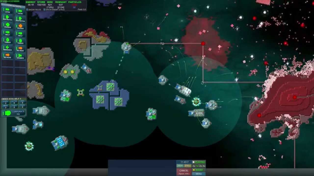 Game 4 == Particle Fleet - YouTube