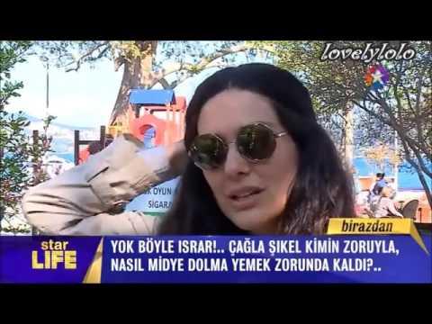 "Bergüzar Korel with her son ""Ali Ergenc""...Star TV 17.4.2016"