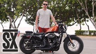 Обзор Harley Davidson Sportster Forty Eight(Сняли обзор мотоцикла во время путешествия по Тайланду! Статья: http://stuntexclub.ru/news/obzor-harley-davidson-sportster-forty-eight., 2014-05-29T15:58:01.000Z)