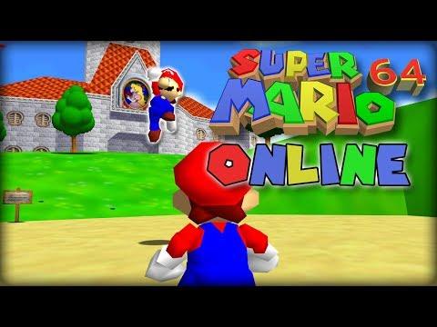 Super Mario 64 Online Multiplayer! [No shared screen] (Easy setup, no desyncs) pre - alpha