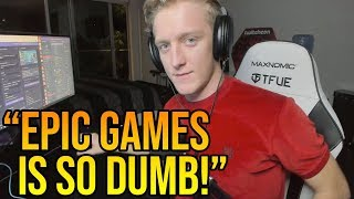 Tfue Makes Fun of Epic Games For Adding *TERRIBLE* Items To Fortnite