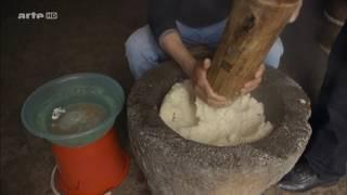 fabrication artisanale du tofu en chine ( sarah weiner en asie . ARTE )