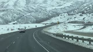 Winter Weather Hills Salt Lake City Utah America | USA
