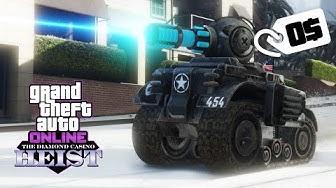 GTA Online Casino Heist — KOSTENLOSEN RC Panzer / Tank erhalten — GTA 5 Diamond Heist Update