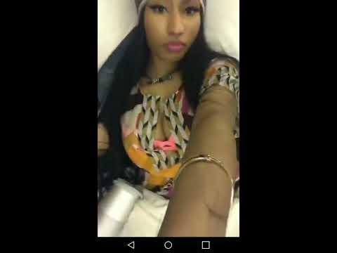Nicki Minaj On Instagram Live