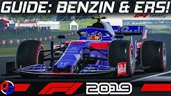F1 2019 Tutorial | ERS & Benzin Management | Formel 1 2019 Guide German Deutsch
