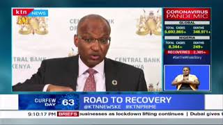 CBK Governor says that there is hope as certain economical sectors show signs of recovery