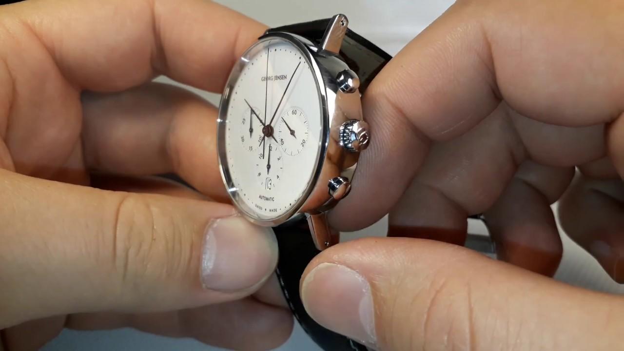Georg Jensen Automatic Chronograph