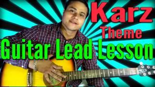 karz Theme Full Guitar Lead Lesson | VGuitarLearning
