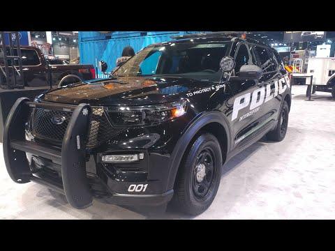 Hybrid Police Car? | 2020 Ford Police Utility | Explorer