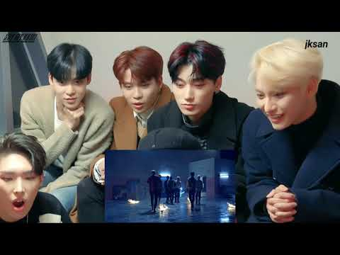 Download ATEEZ reaction to BTS (방탄소년단) '불타오르네 (FIRE)' Official MV