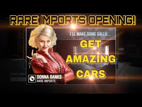 TRICK TO GET THE BEST CARS!?! RARE IMPORTS OPENING  | CSR Racing 2