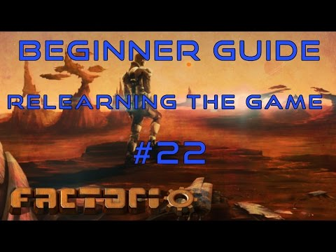 Factorio Beginner Guide: Relearning The Game EP22 - Logistics Robot Smelting