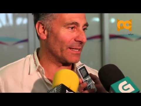 Dakar 2013. Llegada de José López Rivas - Diego Vallejo a Galicia ©Curuxarallye