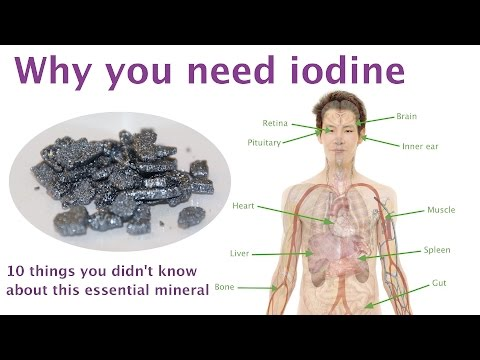 Why you need iodine - 10 things you didn't know about this essential mineral