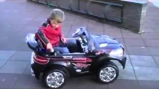 Детский электромобиль BMW X8 на надувных колесах(Классный детский электромобиль на надувных колесах с пультом дистанционного управления. Подробно на http://ma..., 2013-12-25T12:46:22.000Z)