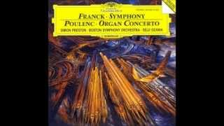 Francis Poulenc Concerto in G minor for Organ Strings and Timpani
