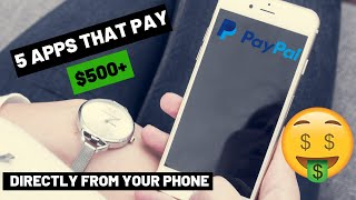 5 Apps That Pay You - Make Money on your Phone