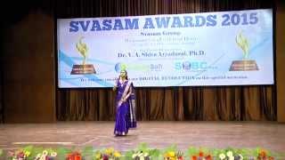 """Vidai Kodu Engal Nadae"" song- Svasam Awards 2015 (PART-VII)"