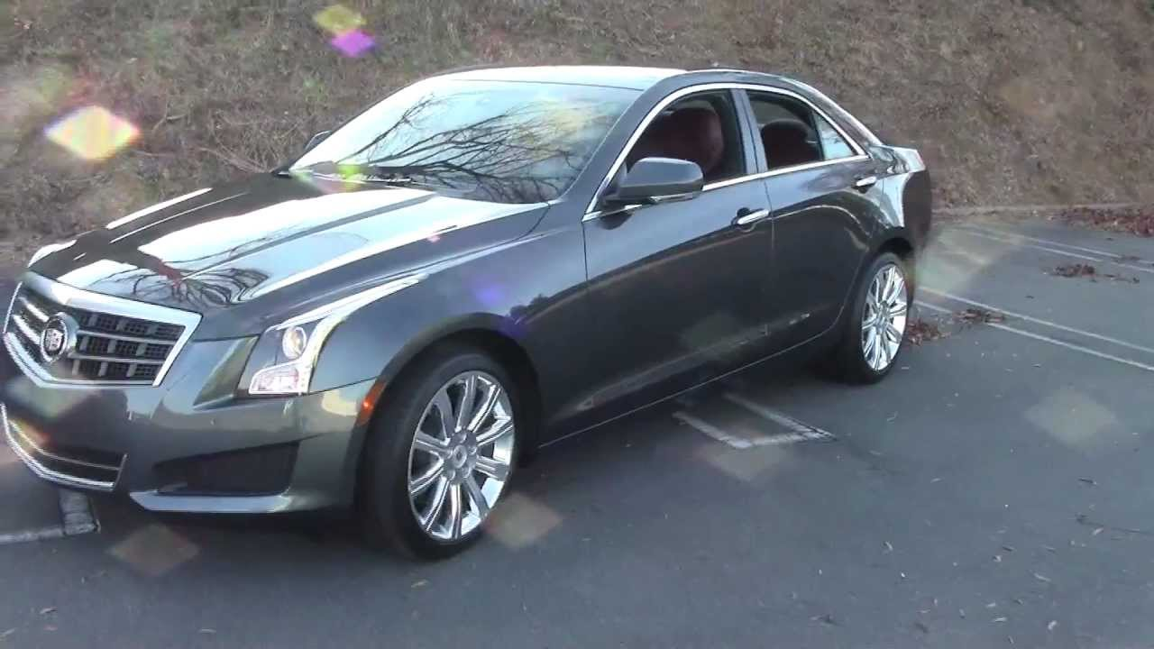 2013 Cadillac Ats 4 Awd 3 6l Luxury Collection Detailed Walkaround