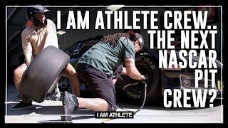 I Am Athlete Crew...The Next NASCAR Pit Crew? | I AM NASCAR with Brandon Marshall, Chad Johnson