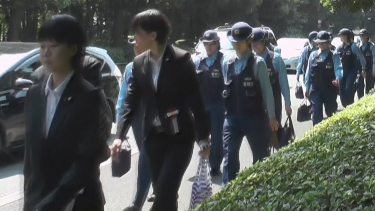 chanceTV 女性警察官集団 北の丸公園 - YouTube
