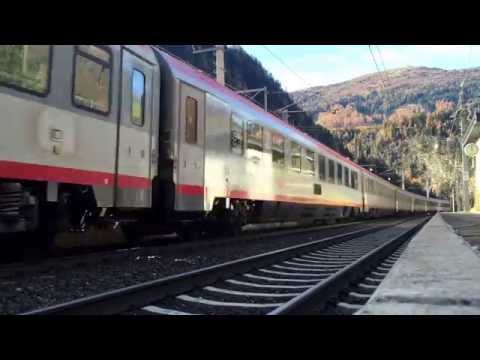ÖBB 1216 018 mit EC 85 in St. Jodok am Brenner