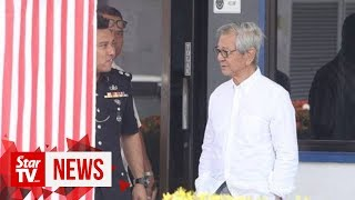Police question tycoon Koon over his Armed Forces comment