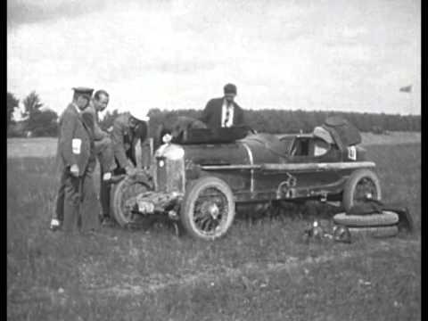 En del bekanta på K.A.K:s hastighetstävlan å Sjöbobanan 8 augusti 1926