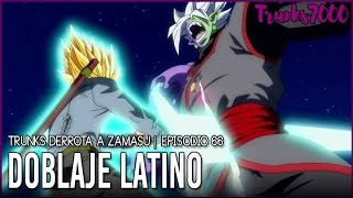 Montaje Latino   TRUNKS VS ZAMASU   Trunks derrota a Zamasu