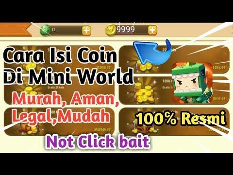 Cara Beli Koin / Top Up Koin Mini World Dengan (Mudah,Murah,Aman,Legal) - 동영상