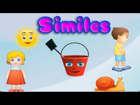 Figurative Language: Similes, Fun and Educational Game for Children