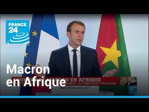 REPLAY - Macron en Afrique : Les questions des étudiants burkinabés