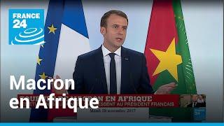 REPLAY - Macron en Afrique : Les questions des étudiants burkinabè