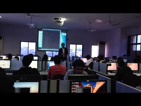 Hacking Workshop at SIES college, Mumbai