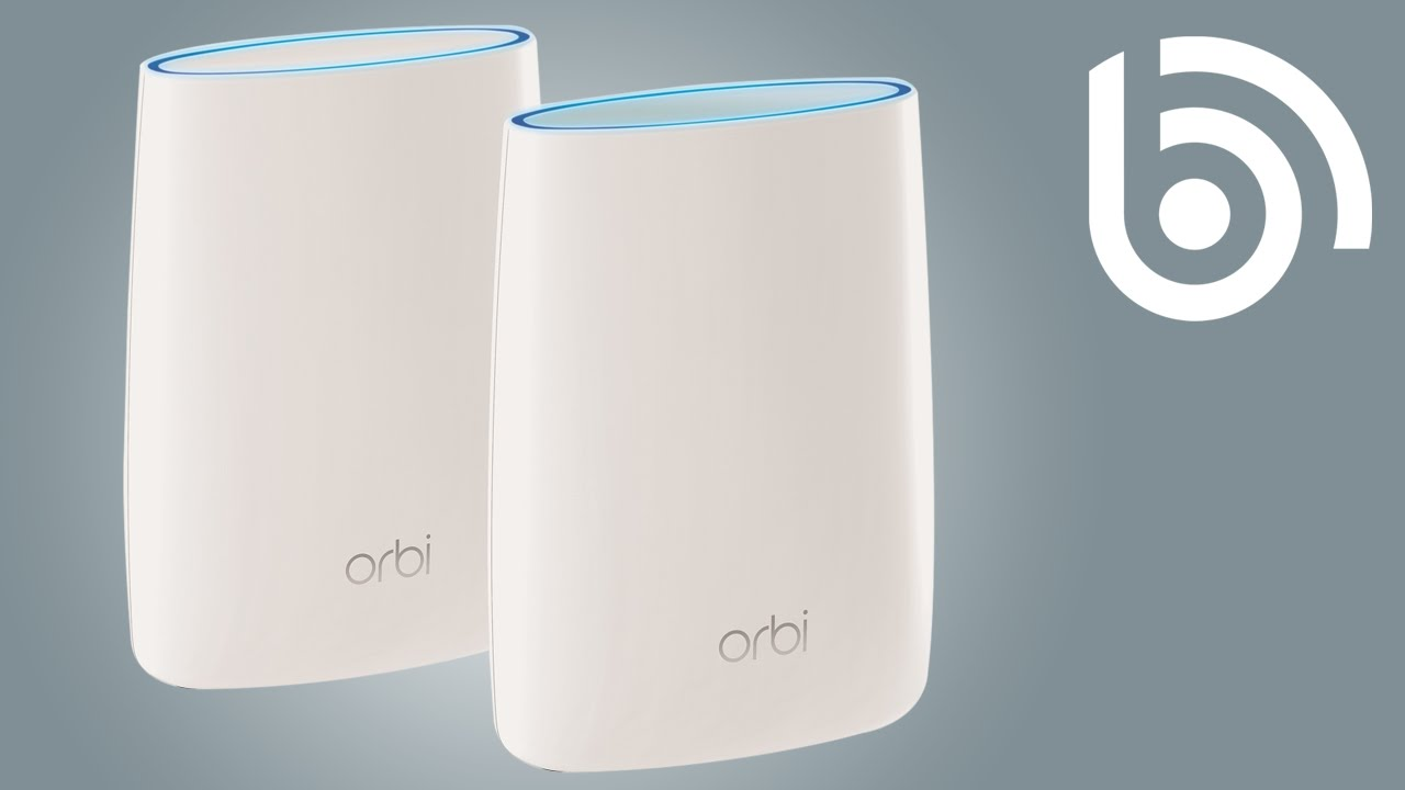 Unboxing the Orbi WiFi System from NETGEAR